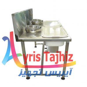 میز پودرزن سوخاری