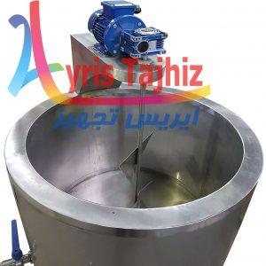 پاتیل پخت شیر صنعتی