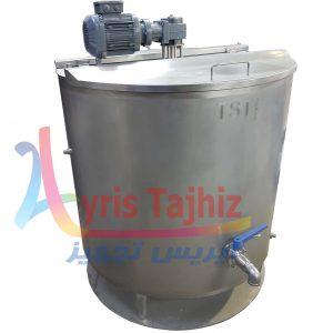 دیگ پخت شیر صنعتی