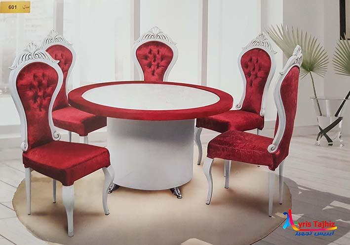 601 - میز و صندلی فست فود