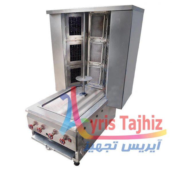 دستگاه کباب ترکی ذغالی